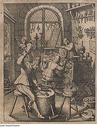 Orfebres del siglo XVII